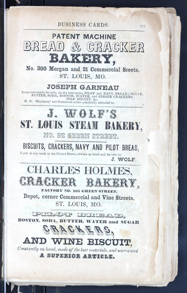1851 City Directory