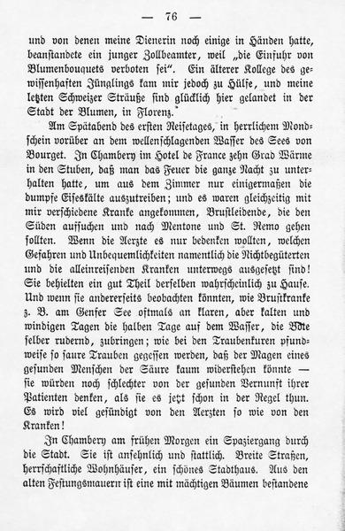 Reisebriefe Aus Deutschland, Italien Und Frankreich (1877, 1878) Leichte Schritte Veranda Erfrischen