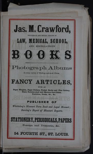 1864 City Directory